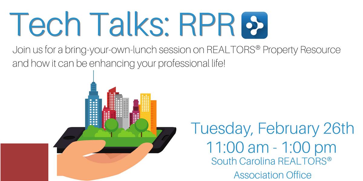 Tech Talks RPR (BYOL)