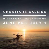 Kayaking Croatia Yoga Adventure