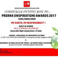 Award Ceremony For Prerna Competition In Tamil Hindi Urdu