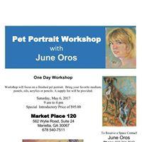 Pet Portrait Workshop with June Oros