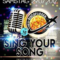 Sing your Song Karaokenacht