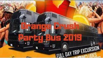 Orange Crush Party Bus