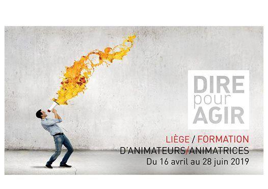 Formation Dire pour Agir  Formation danimatrices  animateurs