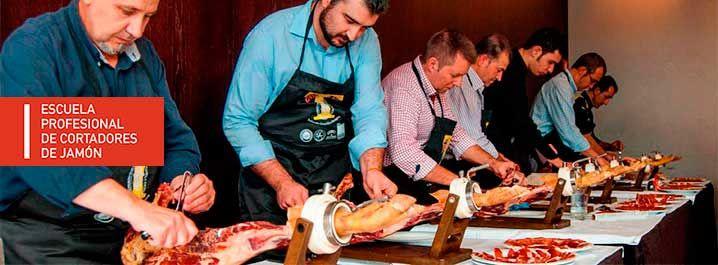 Curso de cortador de jamon en Madrid