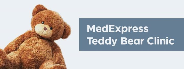Image result for medexpress teddy bear clinic