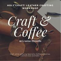 Holy Craft Craft and Coffee Leather Crafting Workshop