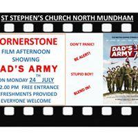 Cornerstone Film Matinee  Dads Army