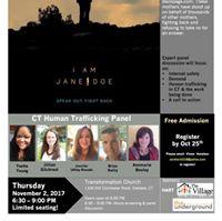I Am Jane Doe - Screening in Oakdale
