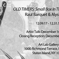Old Timers Small Box In the 21st Century - Artist Talk