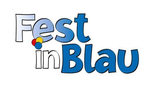 Fest in Blau