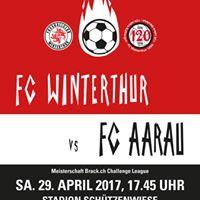 FC Winterthur vs. FC Aarau