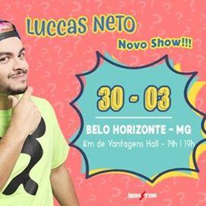 NOVO SHOW Luccas Neto em Belo HorizonteMG