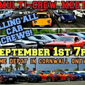 MULTI-CREW Car Meet