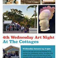 4th Wednesday Art Night at the Cottages