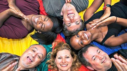 Laughter Yoga & ThetaHealing at Mind Body & Spirit Festival