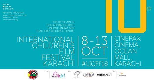 10th International Childrens Film Festival Karachi - 8-13 Oct
