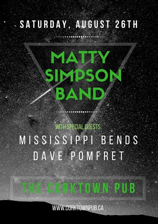 Matty Simpson at The Corktown Pub