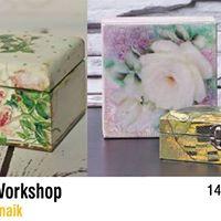 Decoupage Workshop with Trishna Patnaik