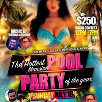 The Hottest Mansion Pool Party of the Year