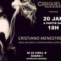 Ciriguela.DeCultura apresenta Cristiano Menestrel