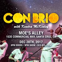 Con Brio  Kendra McKinley at Moes Alley Santa Cruz