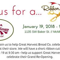 Ribbon Cutting at Great Harvest Bread Co.