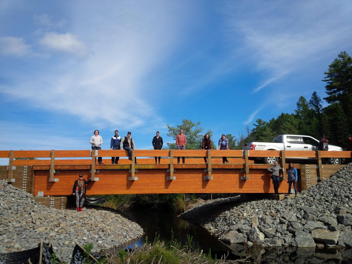 Wood Bridge Design Solutions for Municipal and Resource Roads - Calgary