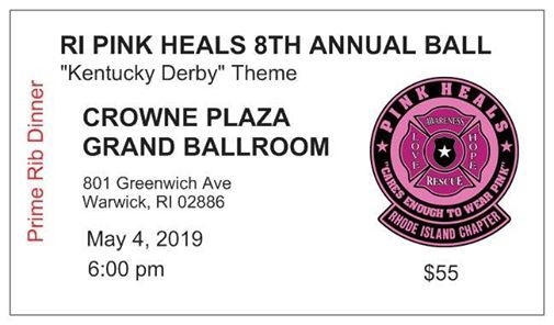 8th Annual RI Pink Heals Ball at Crowne Plaza, Island
