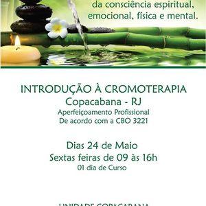 Curso de Introduo  Cromoterapia - Copacabana RJ
