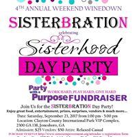 Sisterbration Celebrating Sisterhood Day Party