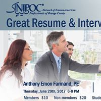 Great Resume &amp Interview Skill