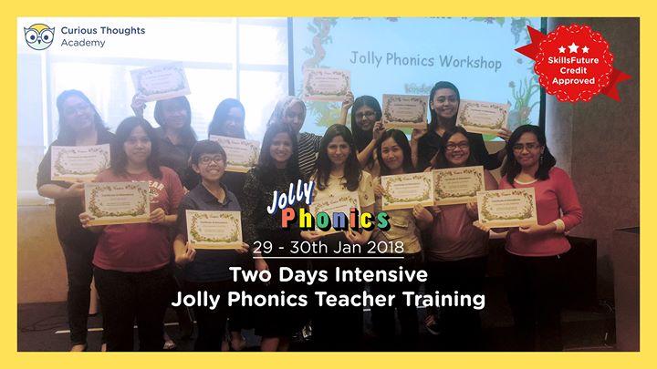 Skillsfuture Jolly Phonics (UK) Training for Parents & Teachers
