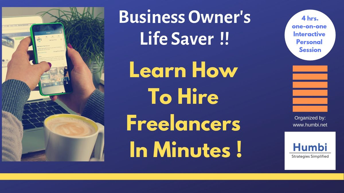 Life Saver for Business Owners Hire Freelancers In Minutes