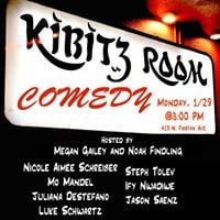 Kibitz Room Comedy Show - 1.29.18