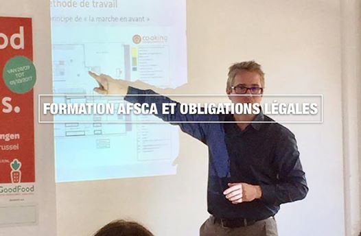 Formation AFSCA chez Co-oking