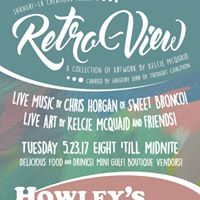 Kelcie McQuaid Retro-View  Art  Music Showcase Howleys