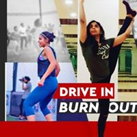 Drive-in and burn out with Nidarshana and Ramya