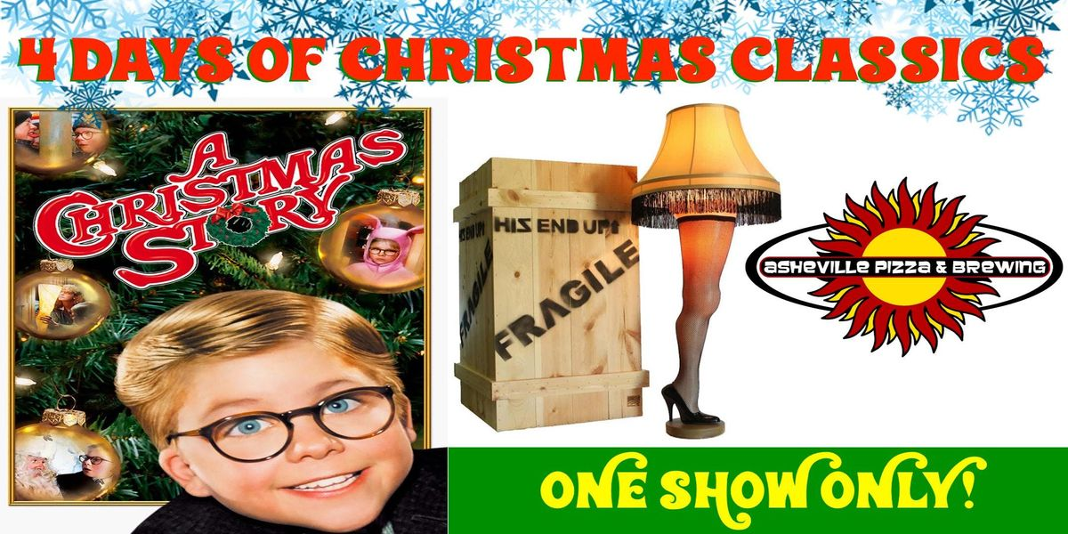 4 Days of Christmas Classics -- A CHRISTMAS STORY (35th Anniversary - One Show Only)