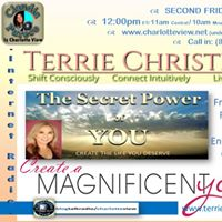 Aug 11  Charlotte View Secret Power of You. Terrie Christine