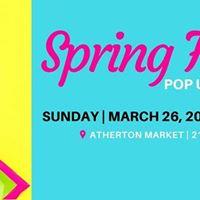 Spring Fling Pop Up Shop