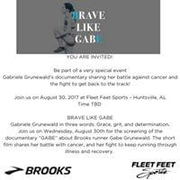 Brave Like Gabe - Battle Against Cancer