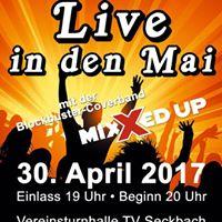 Live in den Mai mit Mixxed Up