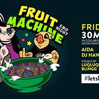 Fruit Machine Emo Night in collab with Good Night KL