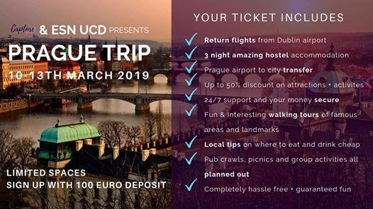 ESN trip to Prague