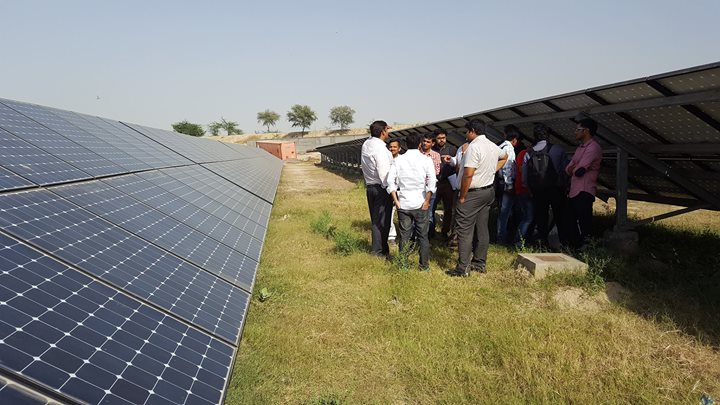 Grid connected PV (GCPV) systems design and installation training at New Delhi