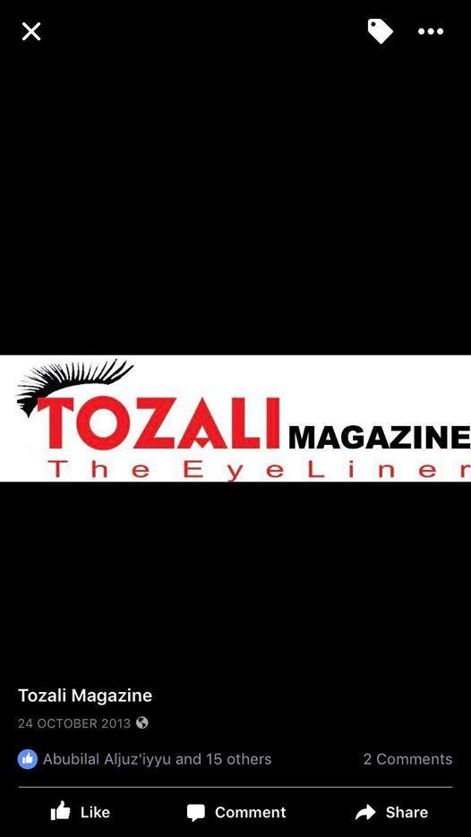 Tozali Henna Ball And Award Night2019