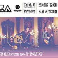 Gloria Ariza. Nuevo EP ingravidez.