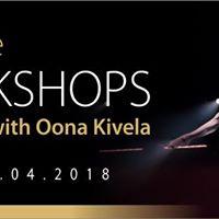 Pole Dance workshops with Oona Kivela  POLE DANCE SHOW