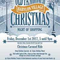 Old Fashioned Village Christmas Shopping Event