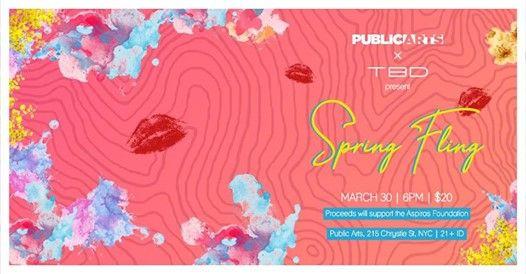 TBD x Public Arts  Spring Fling